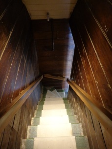 Nairn St Cottage stairs